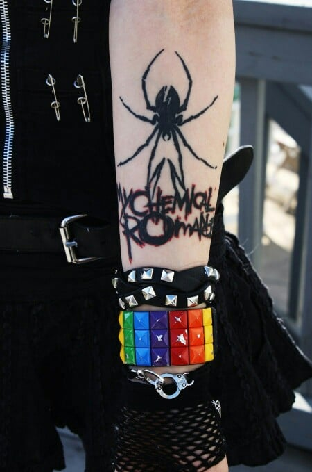 Tatuaje de My Chemical Romance