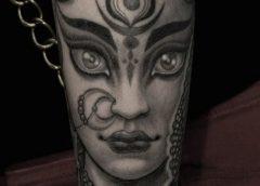 Tatuaje diosa hindú