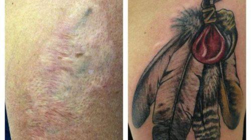 Tatuaje de corazón sangrante