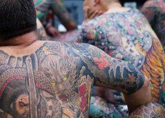 Tatuajes irezumi en la espalda