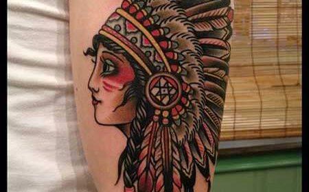 tatuaje india old school