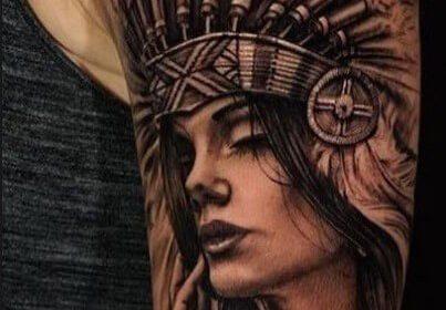 tatuajes indios