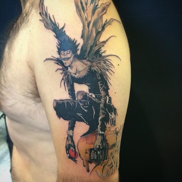 Tatuaje Death Note