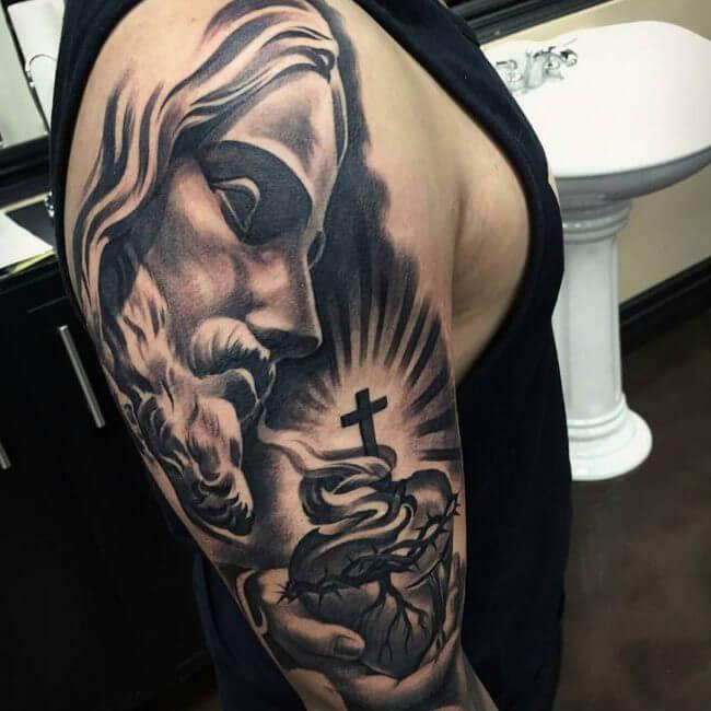 tatuaje de jesus